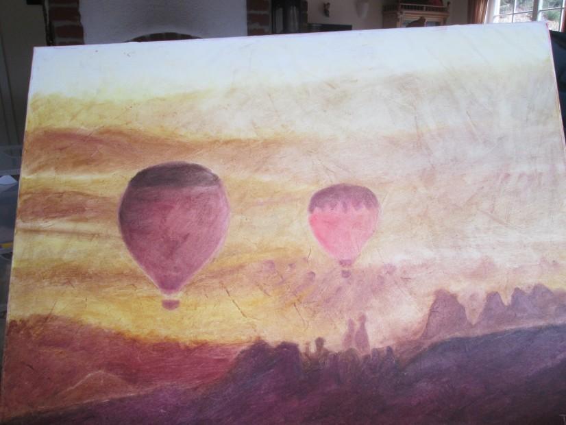 Ballonfahrt über Kappatokien